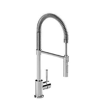Riobel Bi201c 15 Bistro Tall Kitchen Faucet With Spray C 15