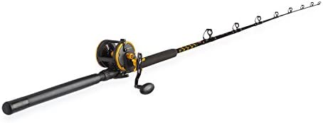 PENN Squall Level Wind Reel Rod Fishing Combo