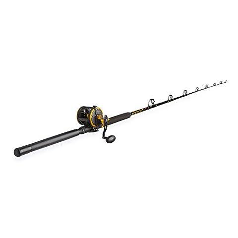 Penn Squall 30 Level Wind Fishing Rod and Trolling Reel Combo, 6.5 Feet - Penn Graphite Rod