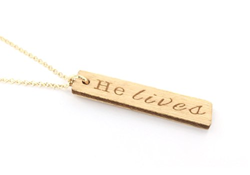 Lives Jesus Christ Necklace Carraway product image