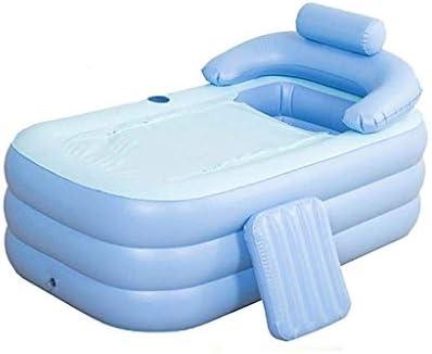 Kk 大人では空気のためのインフレータブルバスタブPVCポータブル浴槽SPA環境ポータブルバスタブバスタブ付きバスルームSPA(160x82x75cm)