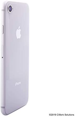 Apple iPhone 8, 256GB, Silver - Fully Unlocked (Renewed)