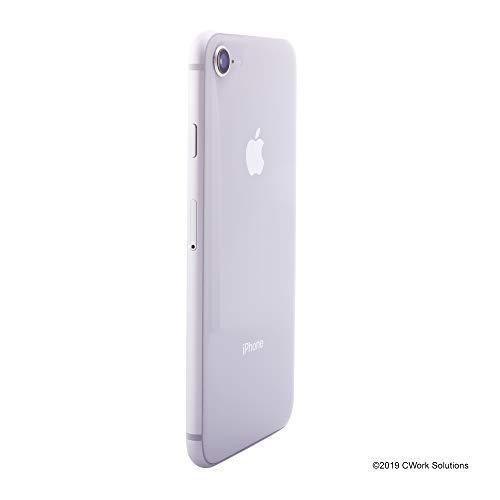 Apple iPhone 8, Fully Unlocked, 256GB – Silver (Renewed)