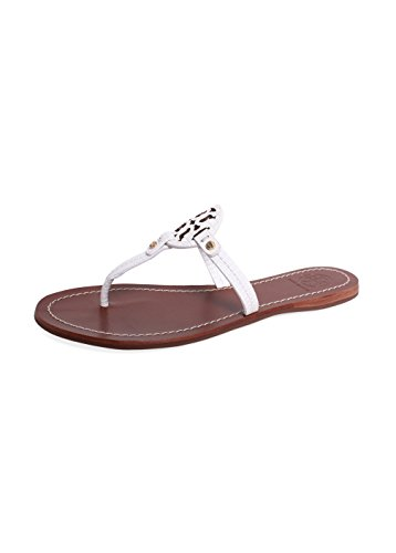 Tory Burch Flip Flop Mini Miller Flat Sandal leather (9, ...