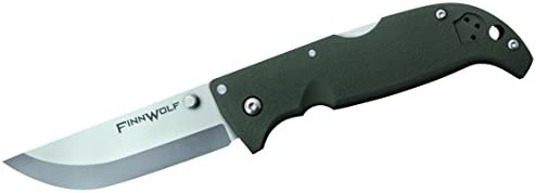 Cold Steel 20NPFZ Finn Wolf Folding Knife OD Green