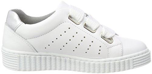Bullboxer Aib001e5l, Zapatillas Para Niñas Weiß (White)
