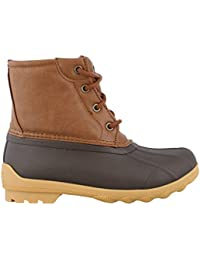 Boys Brown Tan Duck Boot