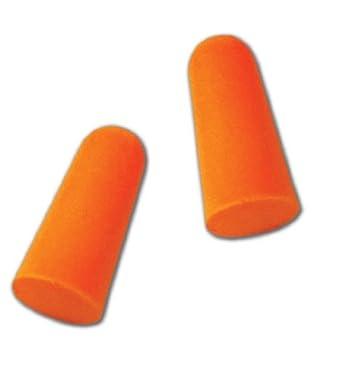 Magid IHP32 - Tapón para los oídos de espuma de poliuretano (E2, desechable, sin cable, talla única), color naranja fluorescente: Amazon.es: Industria, ...