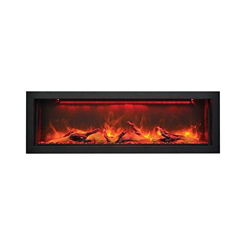 Cheap Sierra Flame Electric Fireplace with Black Steel Surround (VISTA-BI-50-12) 50-Inch Black Friday & Cyber Monday 2019