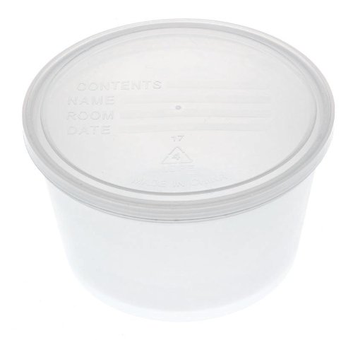 Medline DYND70292Z Denture Containers, Clear (Pack of 25)