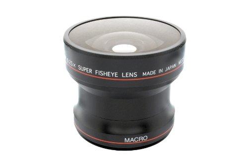 Fujiyama 0.25x Fish Eye Lens for Fujifilm Finepix HS50EXR HS35EXR HS30EXR HS22EXR HS20EXR HS11 HS10 by Fujiyama