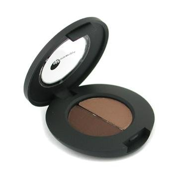 Glo Minerals Brow Powder Duo, Brown, .04 Ounce