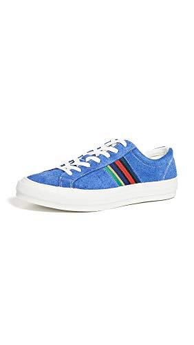 PS Paul Smith Men's Antilla Sneakers, Cobalt, Blue, Stripe, 11 M UK ()