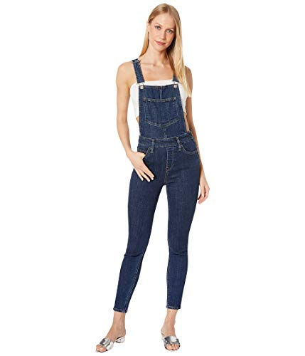 Levi's Women's Skinny Overall Jeans, dip, 28 (US - Skinny Overalls