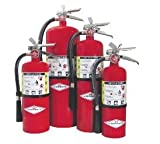 Amerex B424, 5lb ABC Dry Chemical Class A B C Fire Extinguisher