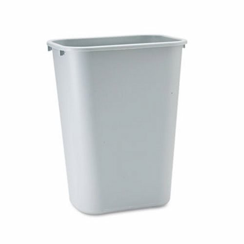 Rubbermaid Commercial 2957 LLDPE 10-Gallon Deskside Large Trash Can, Rectangular, 11