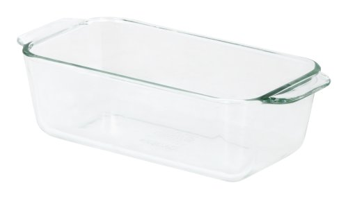 Pyrex Bakeware 1-1/2-Quart Loaf Dish, Clear