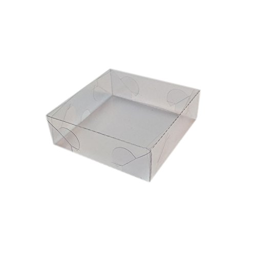 mytorten País Acetato KartonProfis transparente 5 x 5 x 6,5 cm 5 Unidades 9x9x3cm: Amazon.es: Hogar