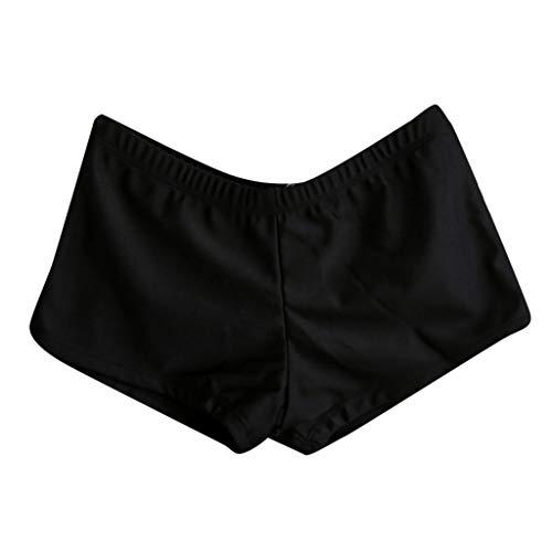 iCJJL Women Yoga Shorts Ruched Butt Sport Gym Push up Running Elastic High Waist Booty Shorts Butt Lifting Hot Pants Black