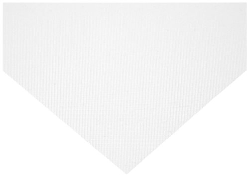 Nylon 6 Woven Mesh Sheet, Opaque White, 40.2'' Width, 10 yards Length, 150 microns Mesh Size, 50% Open Area by Small Parts
