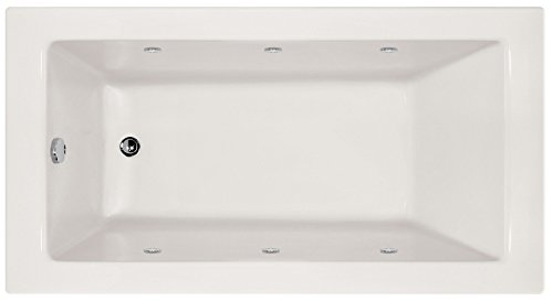 Hydro Systems SYD7240AWP-WHI-LH-WOV.ORB Sydney Acrylic Tub with Whirlpool System (Left Hand Drain Included), White/Oil Rubbed Bronze