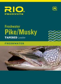 Musky Pike Leaders (Rio Pike/Musky II Leader 7.5ft 30lb bronze, 2 Pack)
