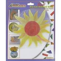 Sunburst Pre-Cut Stained Glass ()
