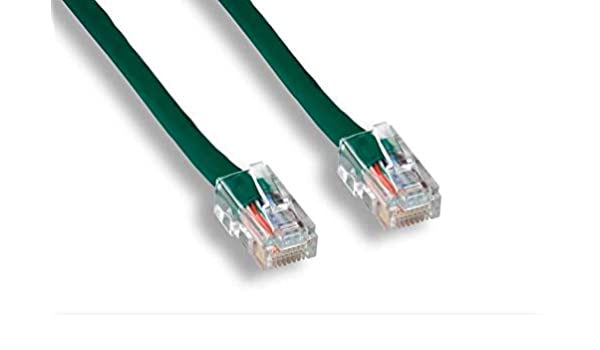 Cat5E Patch Cable 350MHz Bare Copper Molded Snagless Boot