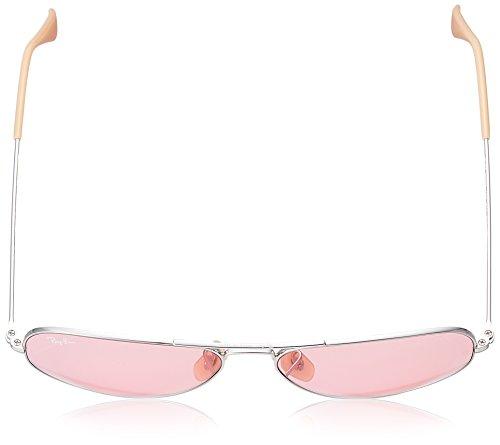 LENSES Ray AVIATOR SILVER unisex LARGE METAL de Sol 3025 PINK Gafas RB EVOLVE Ban 1wqHavnEWU