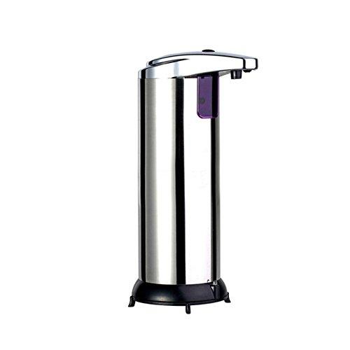 Battery Operated Dispenser (Smartwhiz Automatic Soap Dispenser, Touchless, Battery Operated Stainless Steel Sanitizer & Soap Dispenser with Sensor Fingerprint Resistant & Waterproof Base for Kitchen Bathroom Hospital)