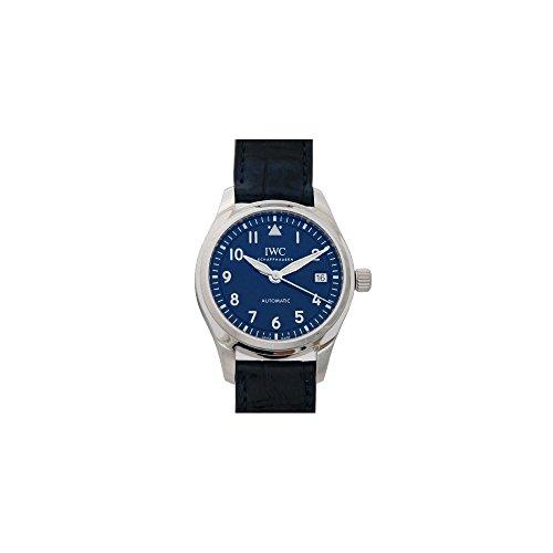 IWC Pilots Automatic Midsize Blue Dial Unisex Watch IW324008