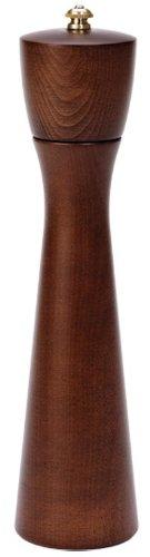 Fletchers' Mill Tronco Pepper Mill, Walnut Stain - 10 Inch, Adjustable Coarseness Fine to Coarse, MADE IN U.S.A. by Fletchers Mill (Image #2)