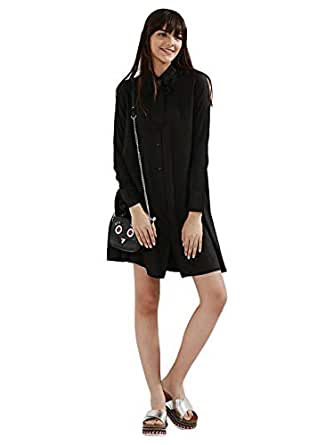 Koovs Casual Shirt Dress For Women