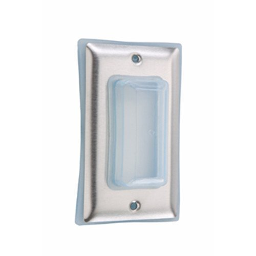 Legrand-Pass & Seymour 4516 Pass and Seymour 4515 Wall Plate Single Bubble Cover for Decorator Switches
