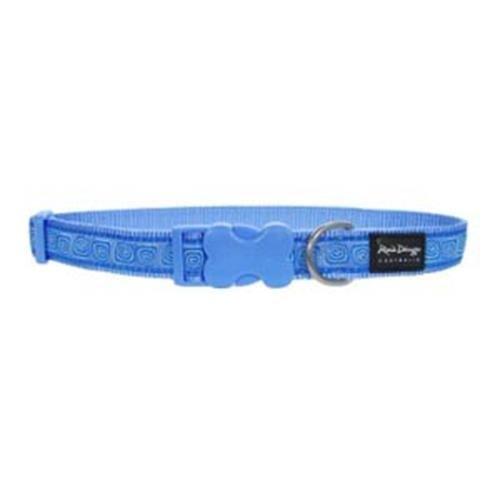Red Dingo Hypno Blue full colour Large Dog Collar