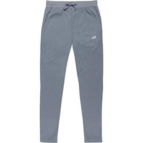 - New Balance Girls' Big Fleece Pant, Gunmetal, 10/12