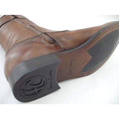 f9e21bc9ee0 Franco Cuadra Botín De Vestir Hombre Marca Piel De Venado Color Almendra   Amazon.com.mx  Ropa