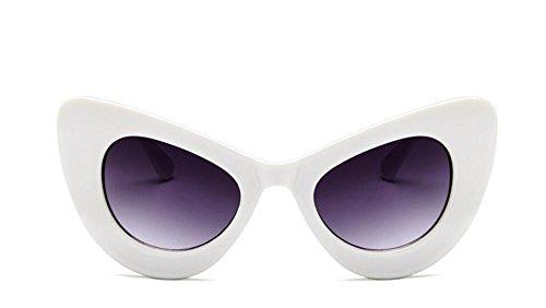 Feeling rétro Cadre Soleil UV400 Voyage de blanc joy Eye Lunettes Papillon Soleil nbsp;Lunettes Femme de Cat Outdoor r5CrxSw