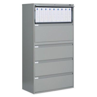 9300 Series 5-Drawer File Finish: Light Grey