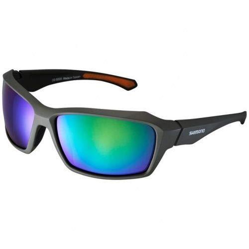 Óculos Shimano S22X Verde/laranja (Eces22Xmgd)
