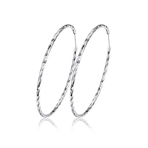 Large Hoop Earring 925...