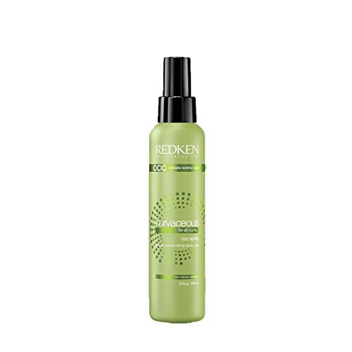 Redken Curvaceous Ccc Spray  Climate Control Caring Spray Gel For All Curl Types   5 Ounces
