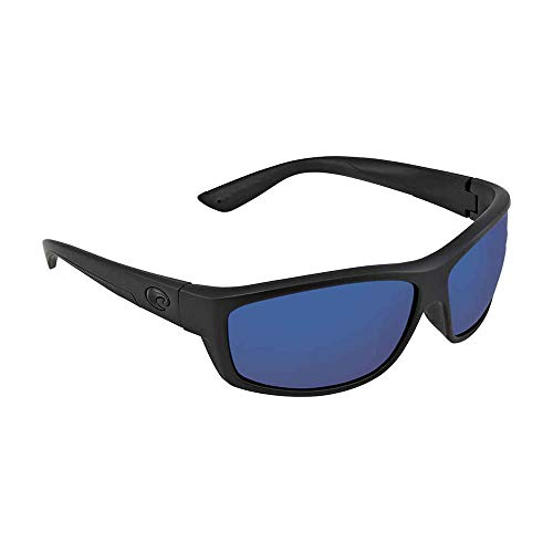 Sunglasses Designer Police - Costa Del Mar Saltbreak Sunglasses Blackout/Blue Mirror 580Plastic