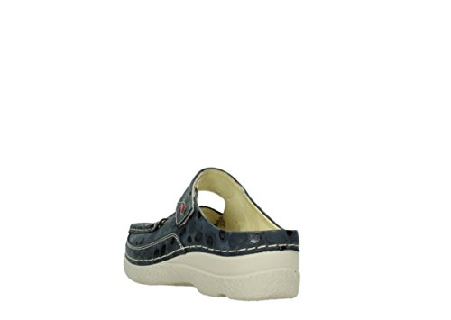 Nubuckleather donna Sneaker 12820 Wolky Denim qw18q6