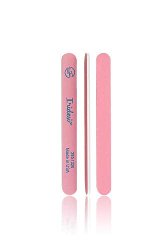 - Nail Files and Buffers Premium Pink Light Pink 280 320 Washable Emery Boards 7 Inches Long 12 Pack