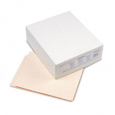 Esselte Fastener Folder - Esselte Pendaflex - Laminate Folders w/2 Fasteners, Straight Cut, End Tab, 14 Point, Ltr, MLA, 50/Bx - Pack of 5