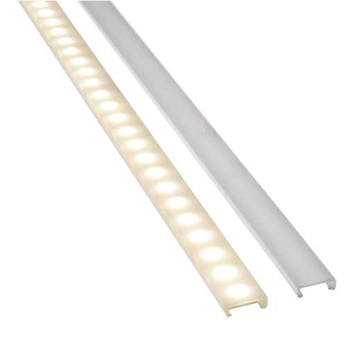 Diode LED TAPEGUARD Tape Light Cover Clear/Frosted (Frosted)
