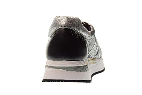 Sneakers Conny Femme Chaussures 2972 PREMIATA Argent Bas CIwxd5q