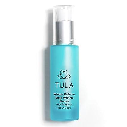 Suero para el cuidado de la piel de Tula, defensa antierrugas profundas, tecnologí