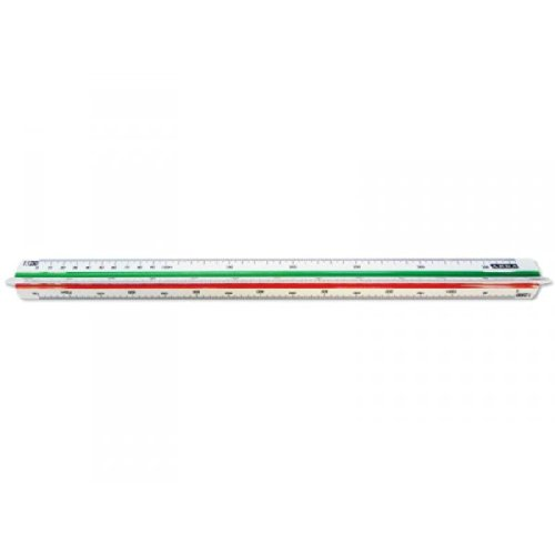 ARDA scalimetro isoteck arda 30cm per catasto (scale 1:500-1000-1250-1500-2000-2500) 111
